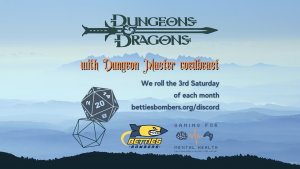 DnD with the Bomber Crew @ Betties Bombers Discord